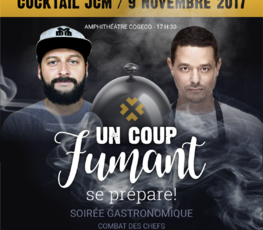 Cocktail JCM - Un coup fumant
