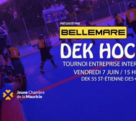 Tournoi de Dek Hockey inter-chambre - Jeune Chambre de la